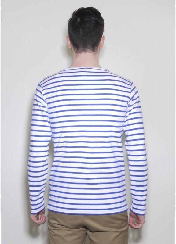 Armor lux long sleeve sailor stripe logo tee ss12 for Striped french sailor shirt