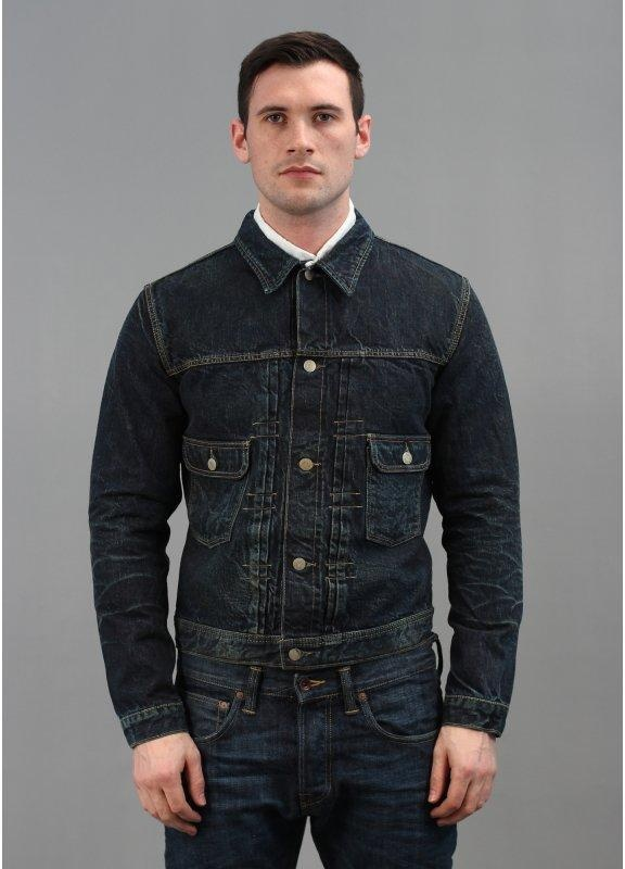 Edwin Over Works Factory Vintage 50s Denim Jacket BNWT L XL