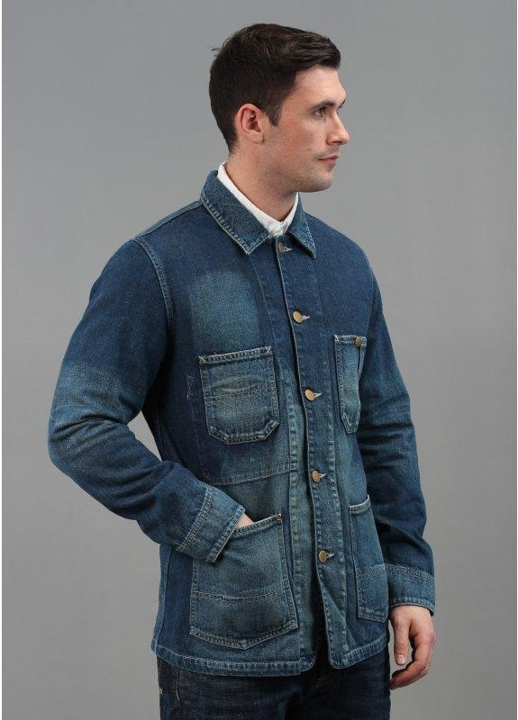 Edwin Over Works Factory Loco Denim Jacket | Triads
