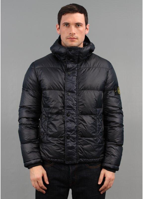 Stone Island 30th Anniversary Garment Dyed Down Jacket Navy