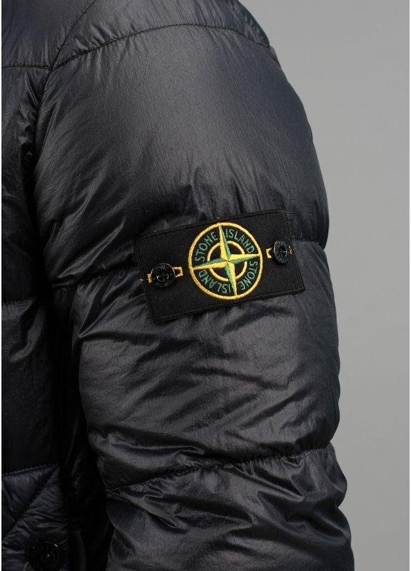 Stone Island Garment Dyed Down Jacket Navy Triads