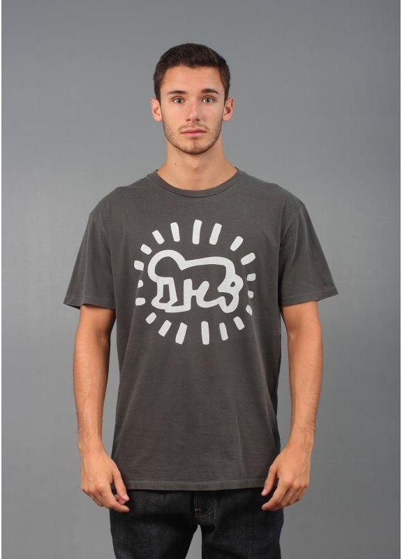 obey x keith haring radiant baby dusty t shirt triads. Black Bedroom Furniture Sets. Home Design Ideas