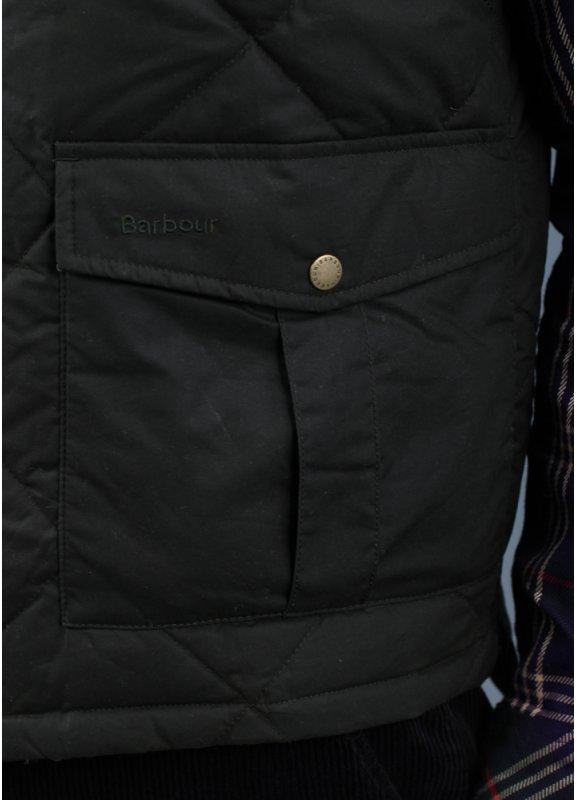 Barbour Wax Feather Gilet Olive Triads