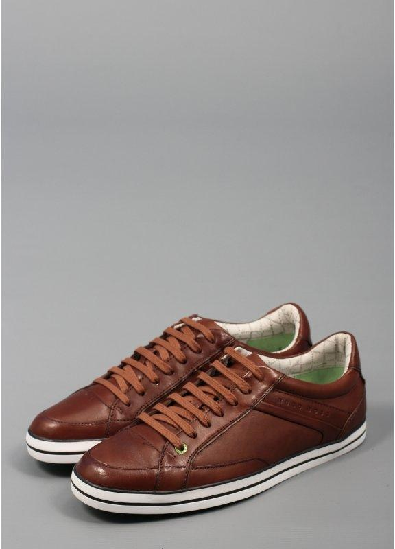 Hugo Boss Green Apache Adv Trainers Brown Triads Mens