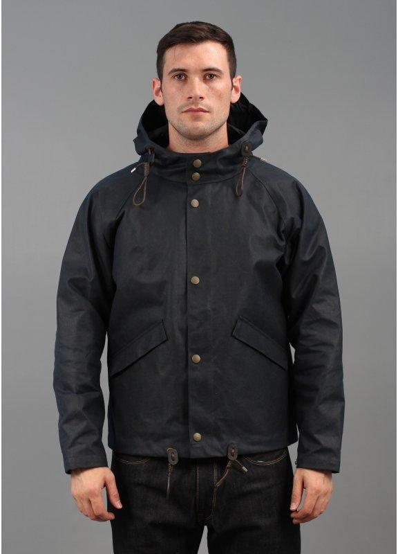 Nigel Cabourn Aircraft Hooded Jacket Navy