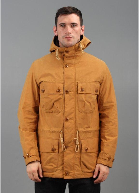 Barbour Whitby Hooded Jacket Yellow