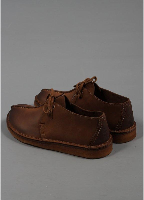 Clarks Originals Desert Trek Brown Leather