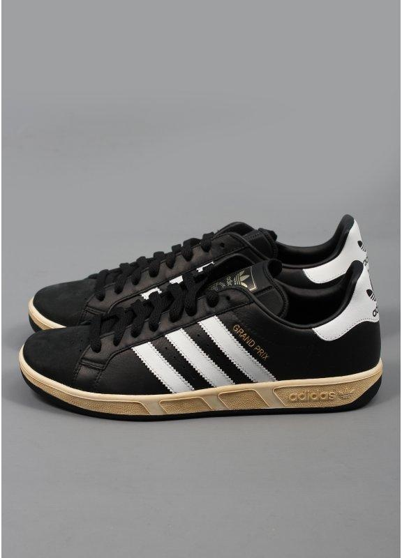 adidas grand prix trainers black. Black Bedroom Furniture Sets. Home Design Ideas