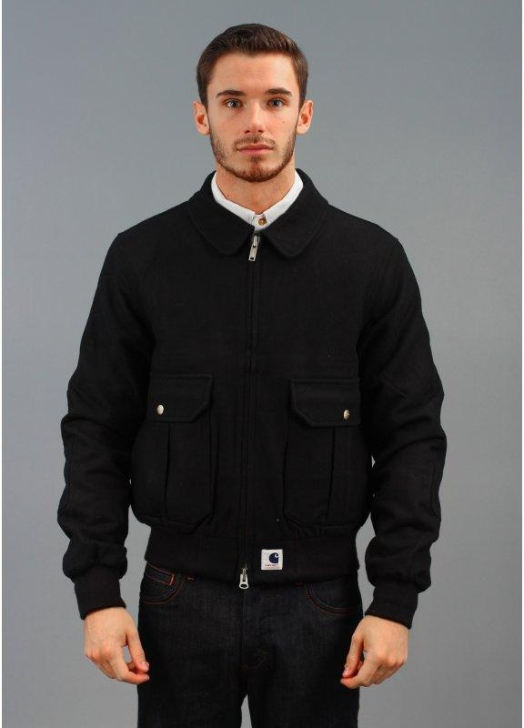 Adam Kimmel X Carhartt Aviator Zipper Jacket Black