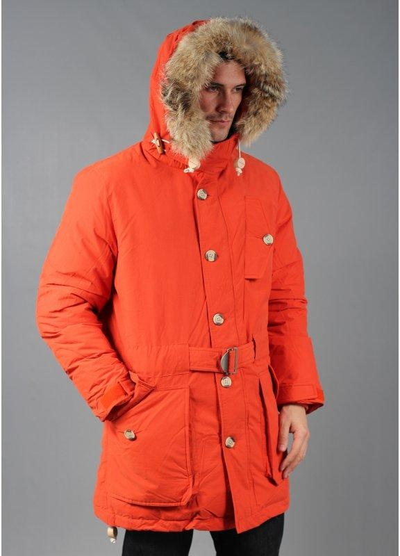 Penfield Hartland Parka Jacket Orange