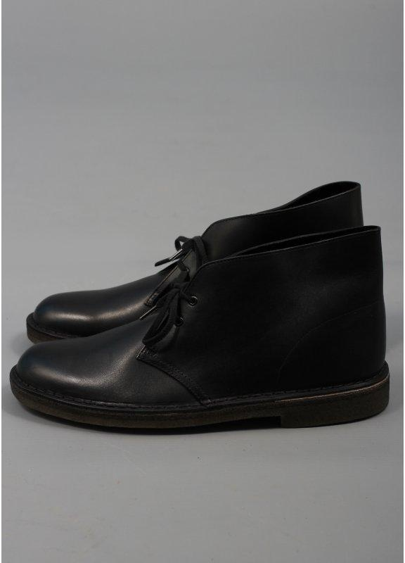 clarks originals desert boot black leather buy clarks