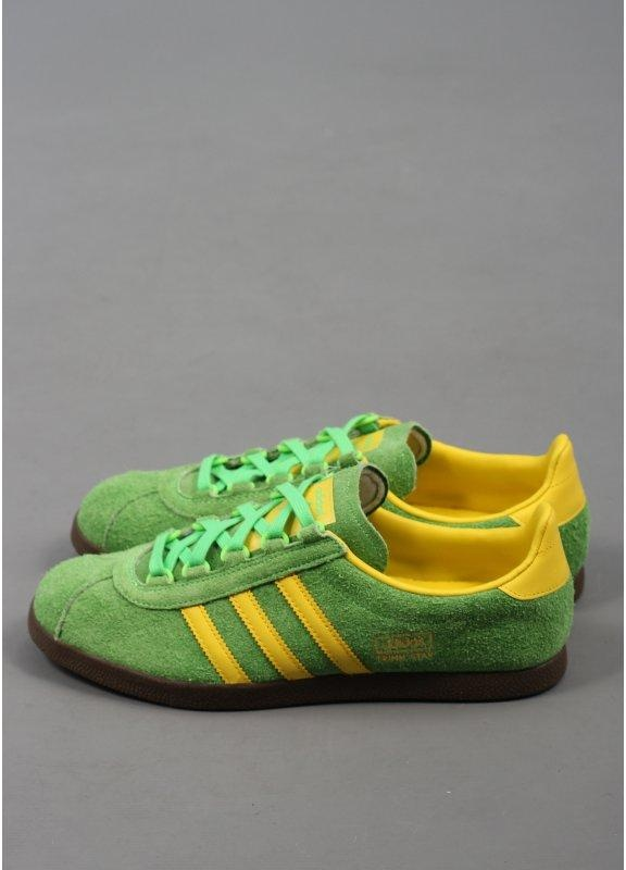 adidas gazelle green yellow