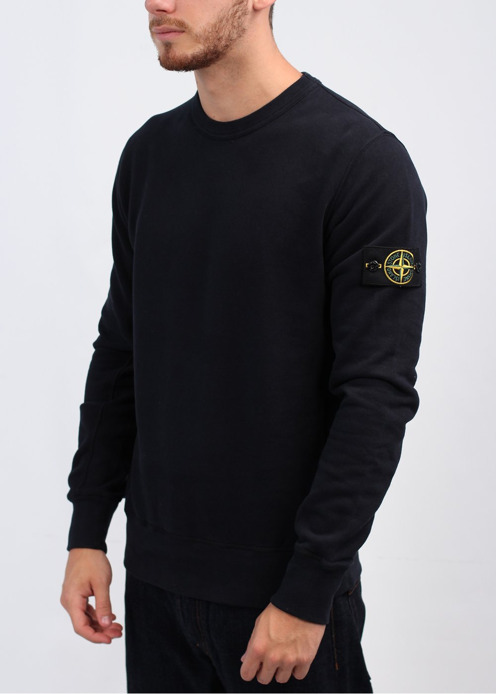 stone island sweatshirt navy. Black Bedroom Furniture Sets. Home Design Ideas