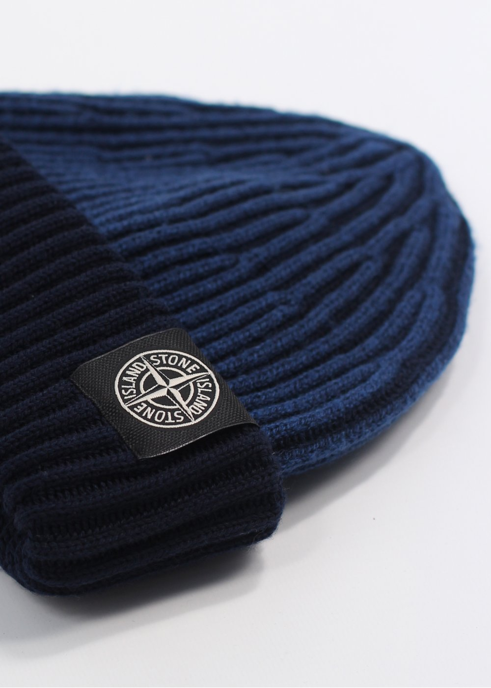 Vintage Watches For Sale >> Stone Island Logo Beanie Hat - Royal Blue