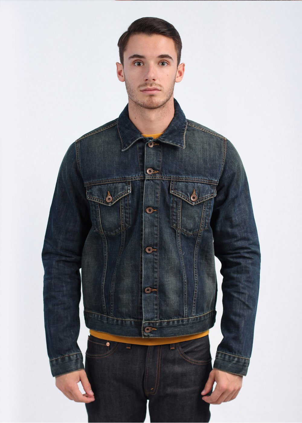 Edwin Buddy Jacket - Dark Blue
