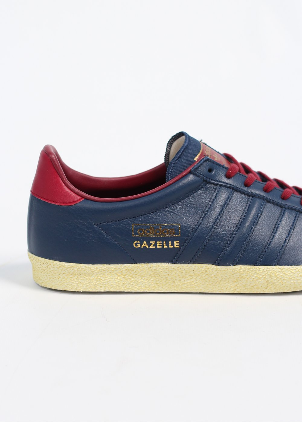 Adidas Originals Originals Top Ten Low Sneaker In Black: Adidas Originals Gazelle OG Leather Trainers