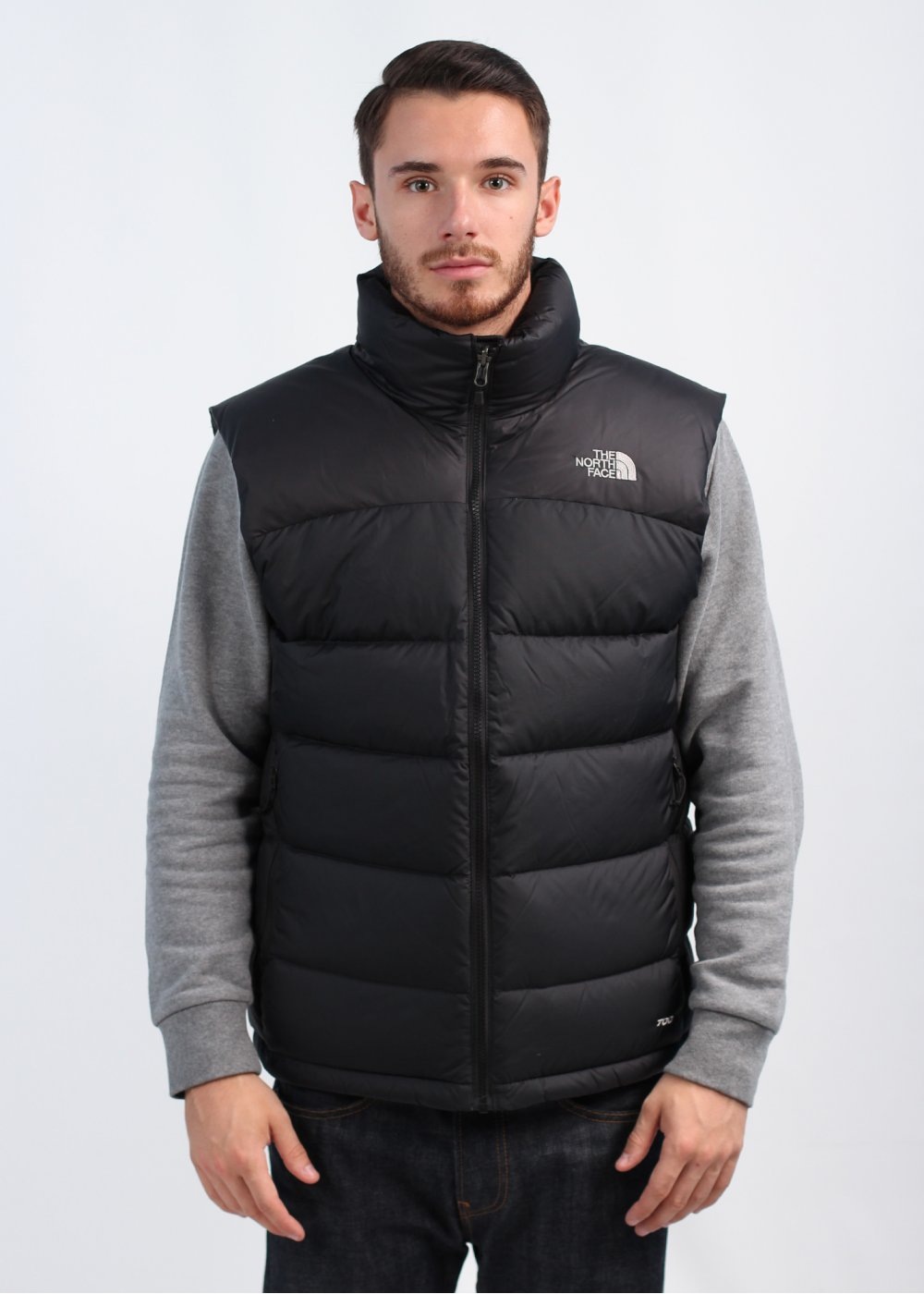 the north face nuptse 2 vest gilet black. Black Bedroom Furniture Sets. Home Design Ideas