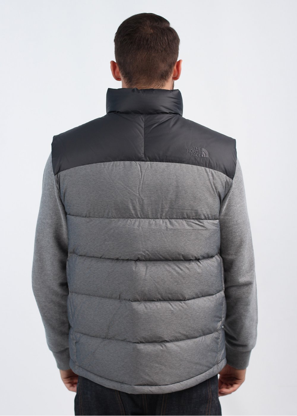 the north face nuptse 2 vest gilet asphalt grey. Black Bedroom Furniture Sets. Home Design Ideas