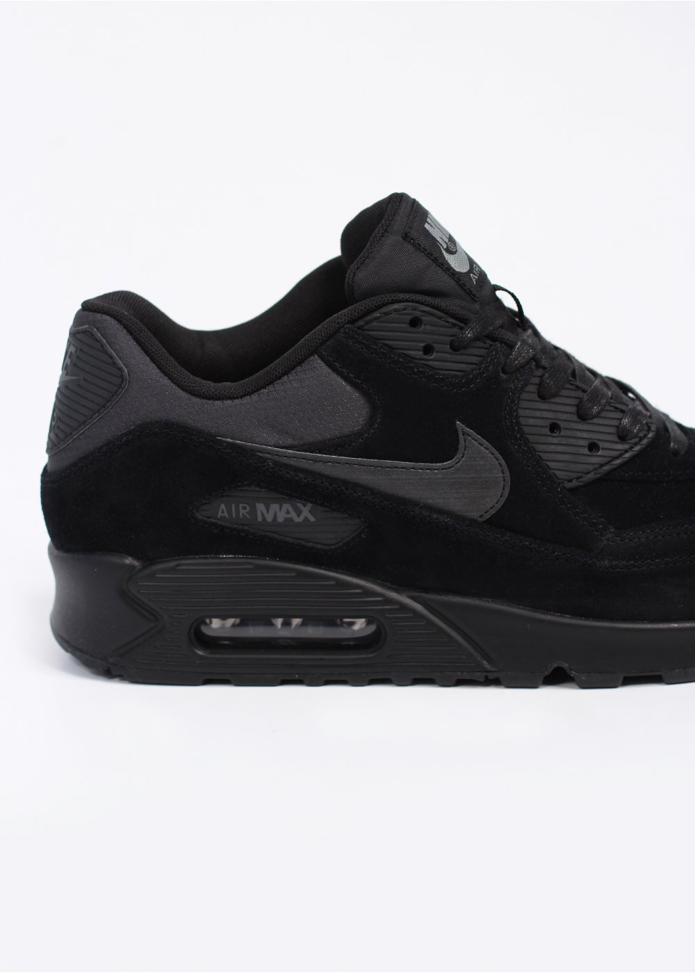 best website 0d951 bef13 ... nike air max 90 premium charcoal suede . ...