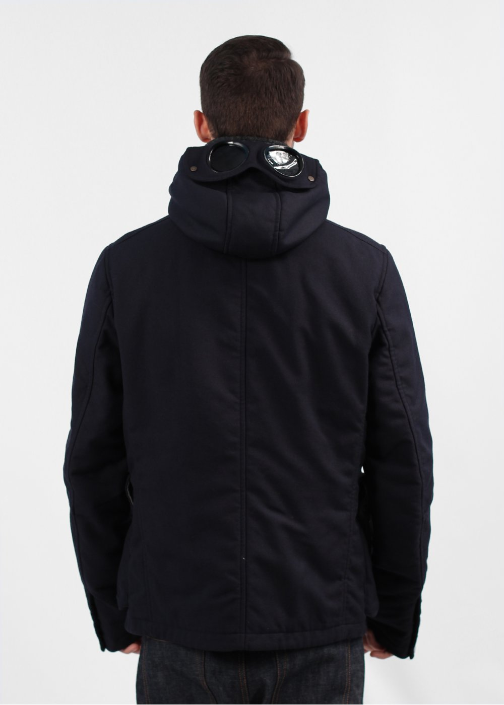 Cp company leather jacket