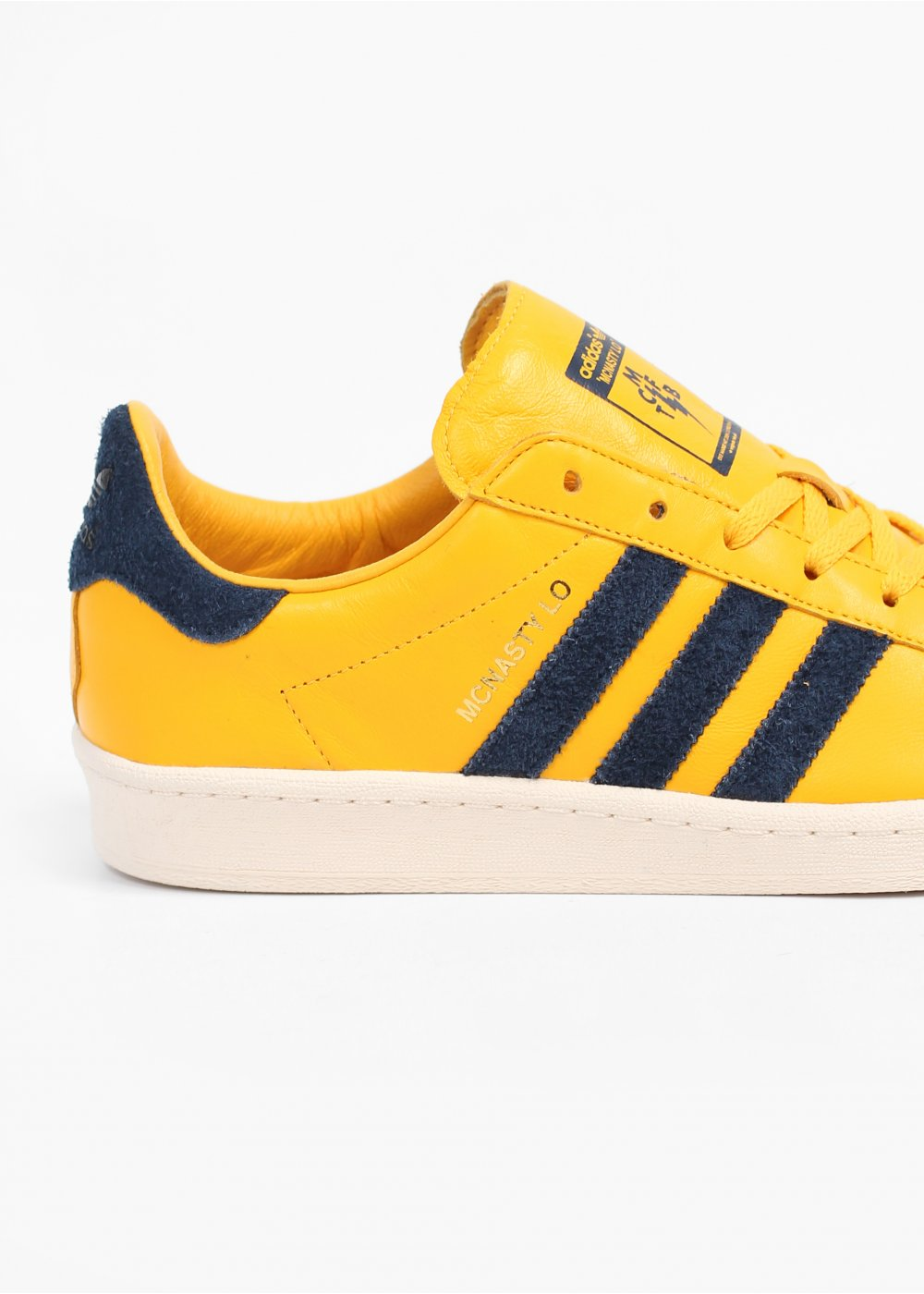 Yellow Adidas Originals Trainers