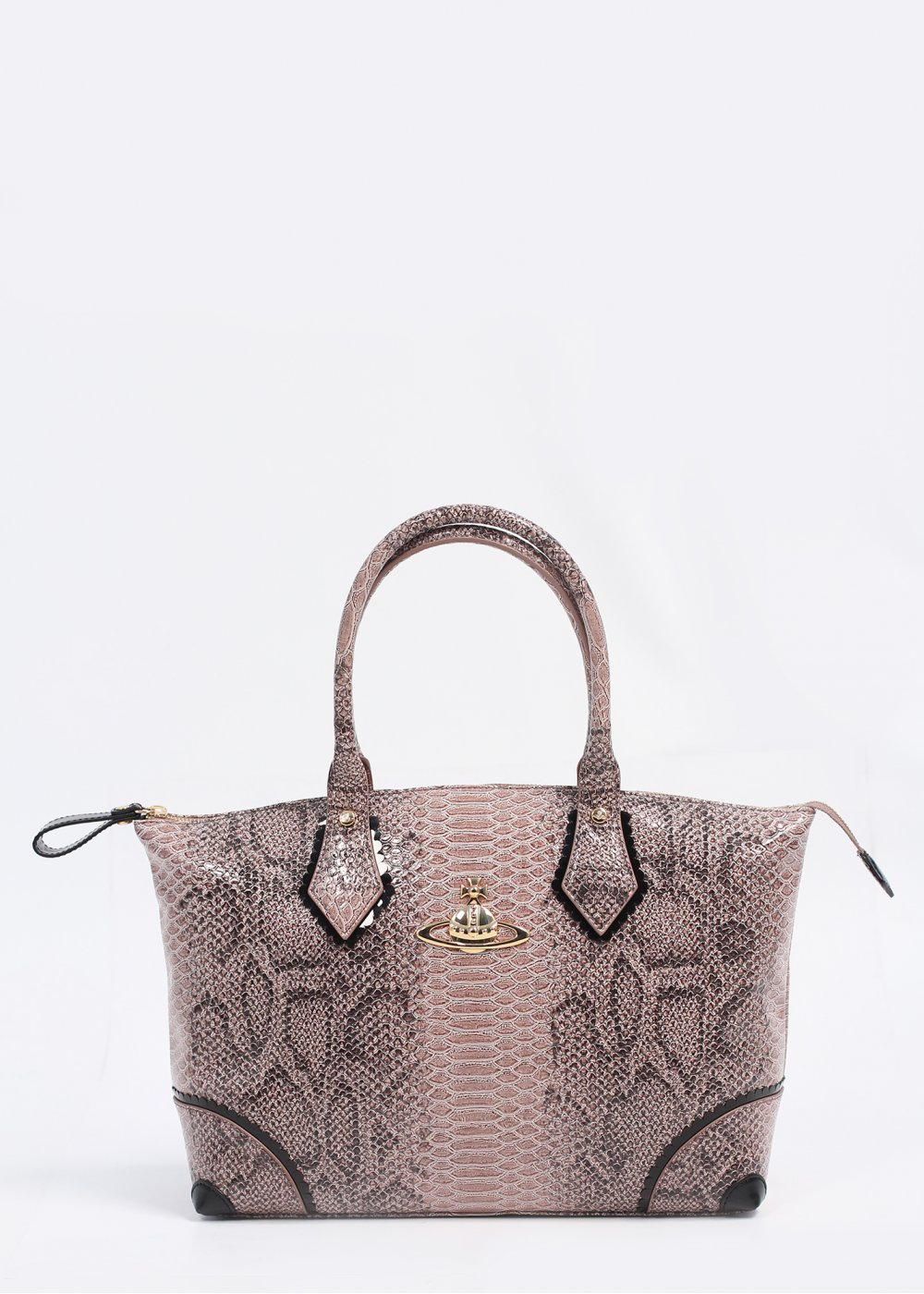 Vivienne Westwood Accessories Frilly Snake Bag Beige, AW13.