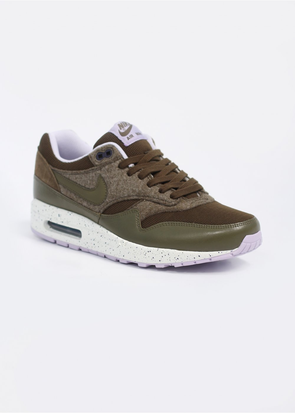 nike air max 1 trainers dark loden medium olive. Black Bedroom Furniture Sets. Home Design Ideas