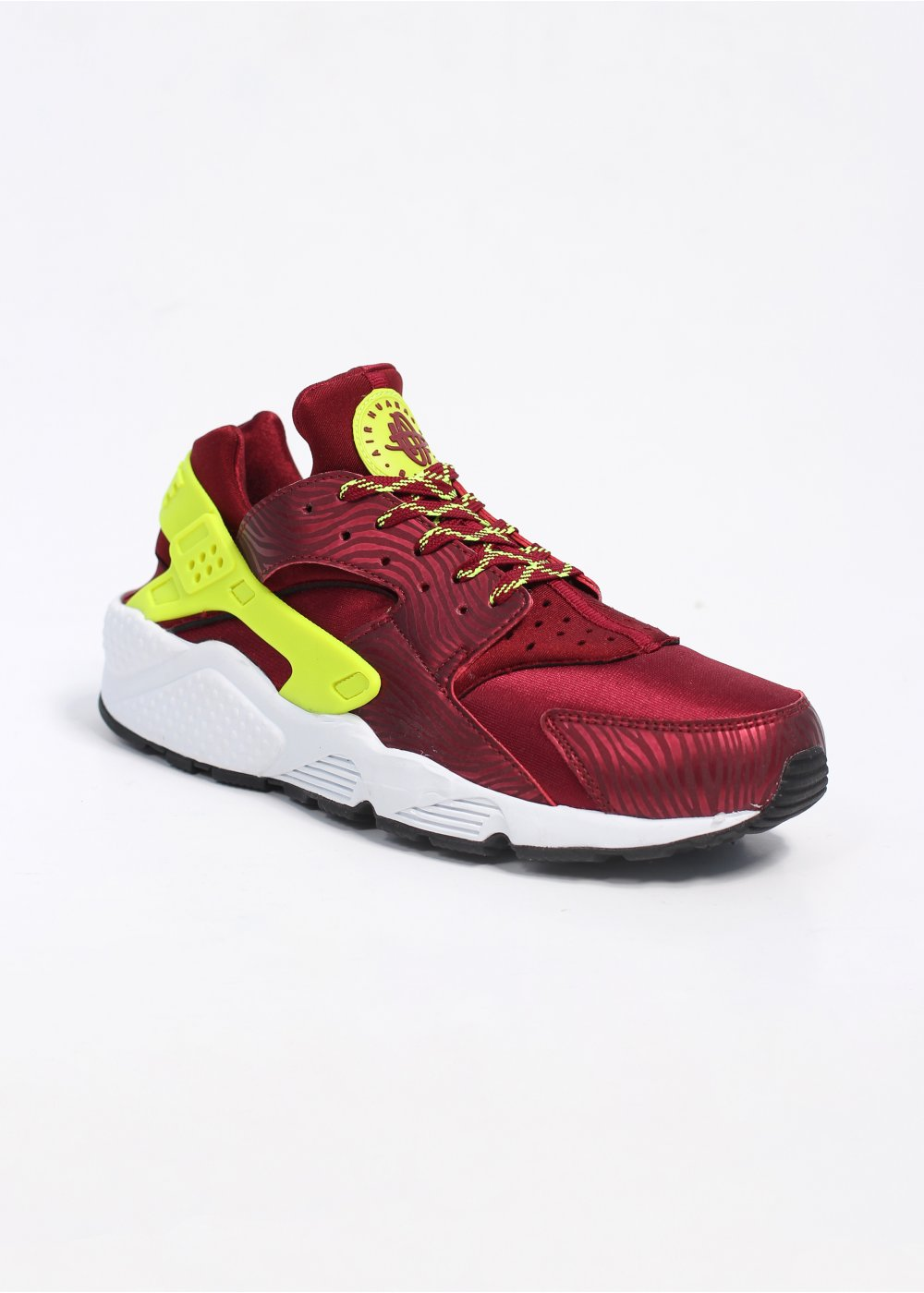 nike air huarache trainers red volt. Black Bedroom Furniture Sets. Home Design Ideas