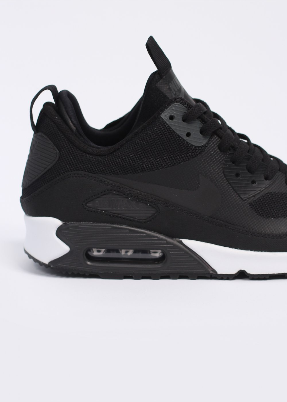 Nike Air Max 90 Sneaker Boot Black White Dark Charcoal