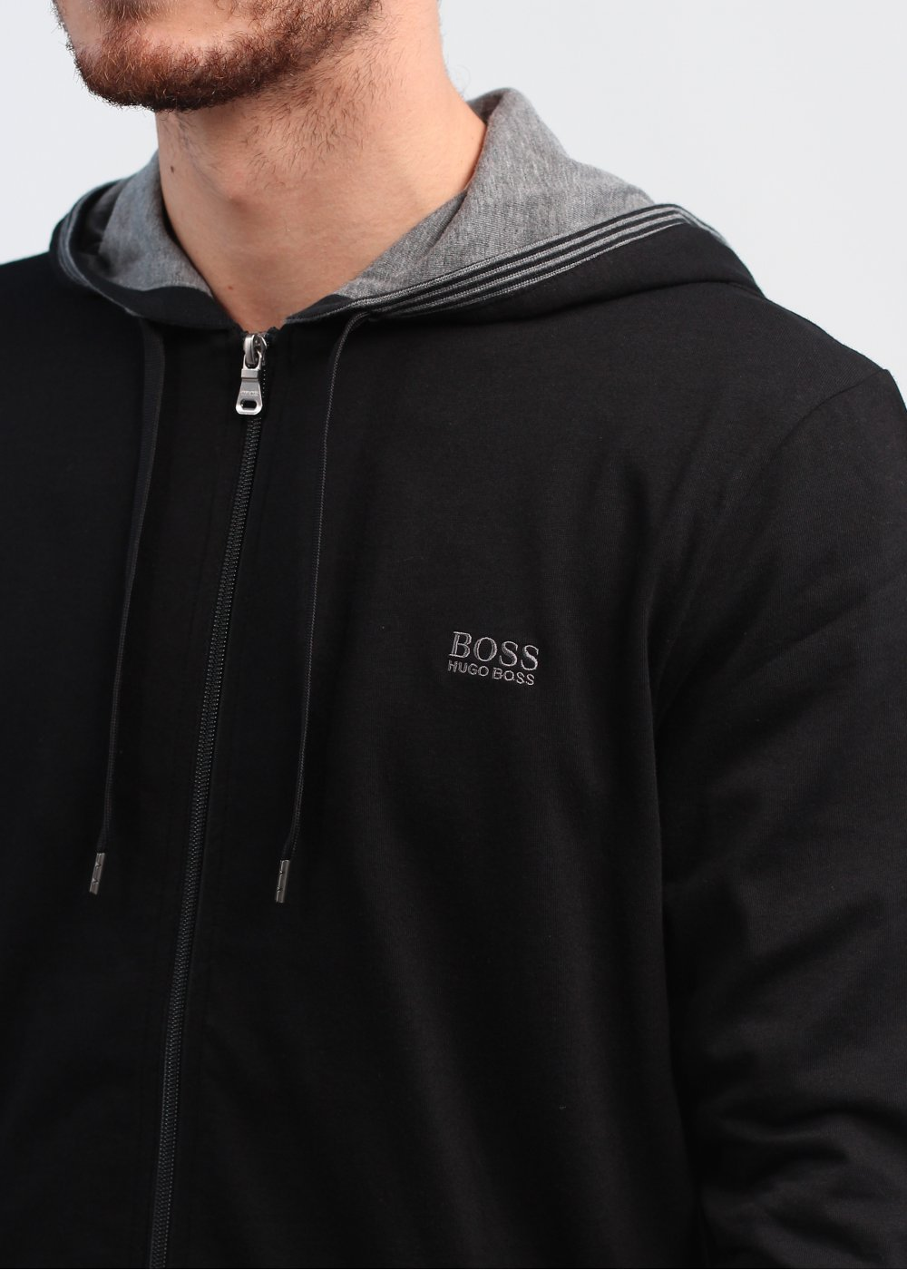 Hugo Boss Black Hooded Jacket