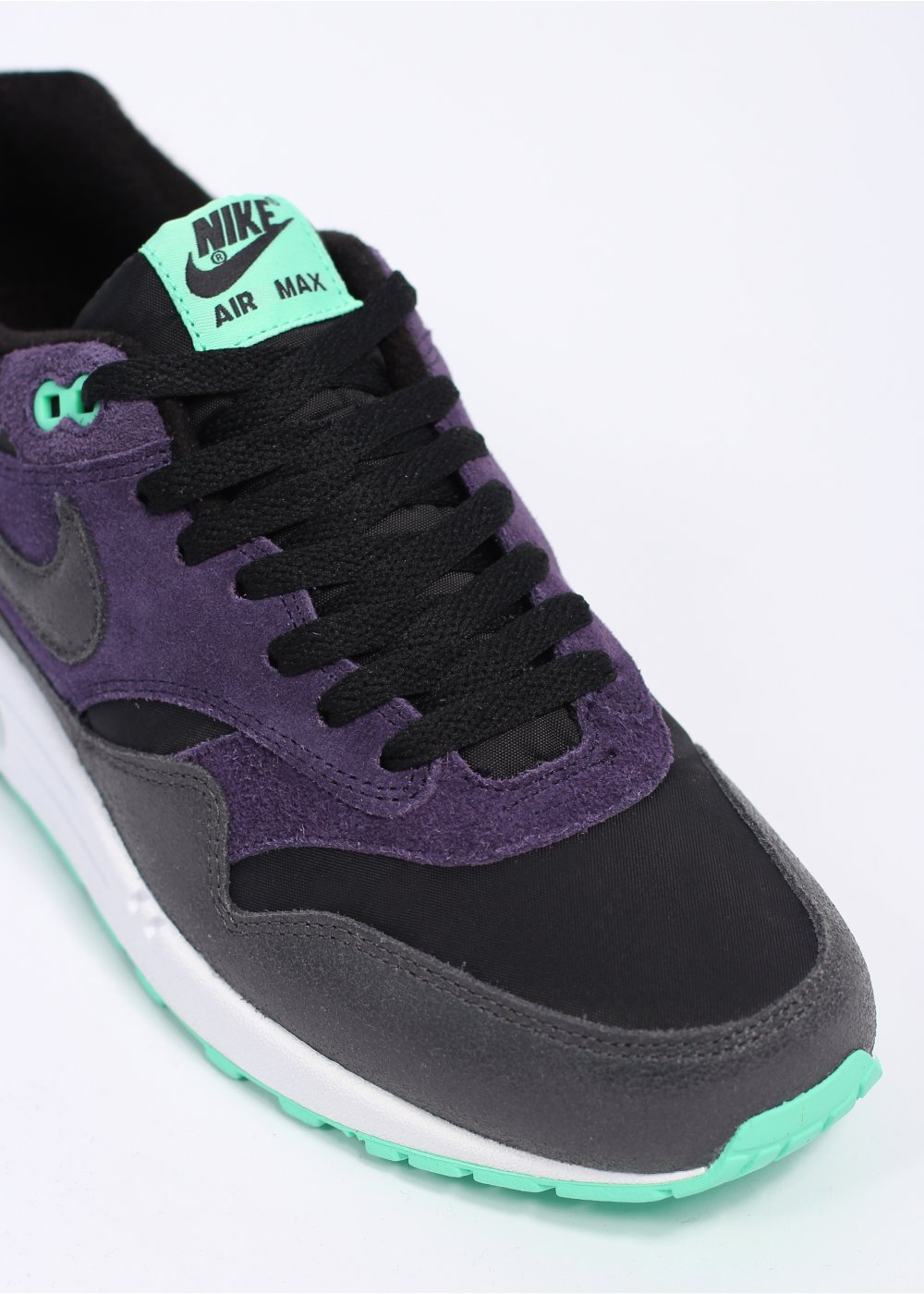 nike air max 1 essential trainers purple