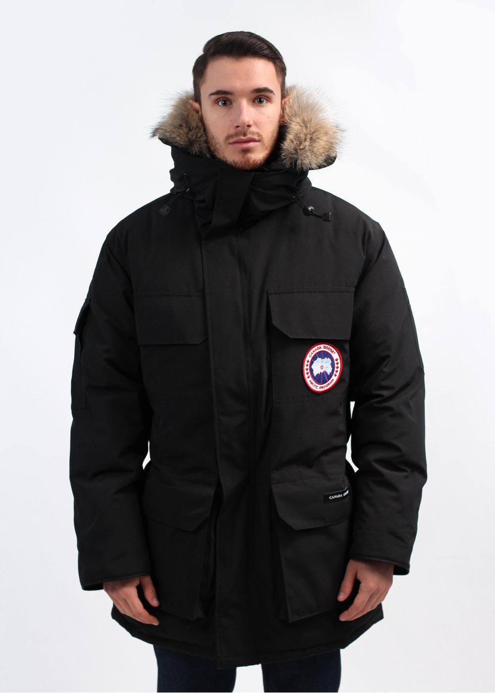 how to clean canada goose coat at home