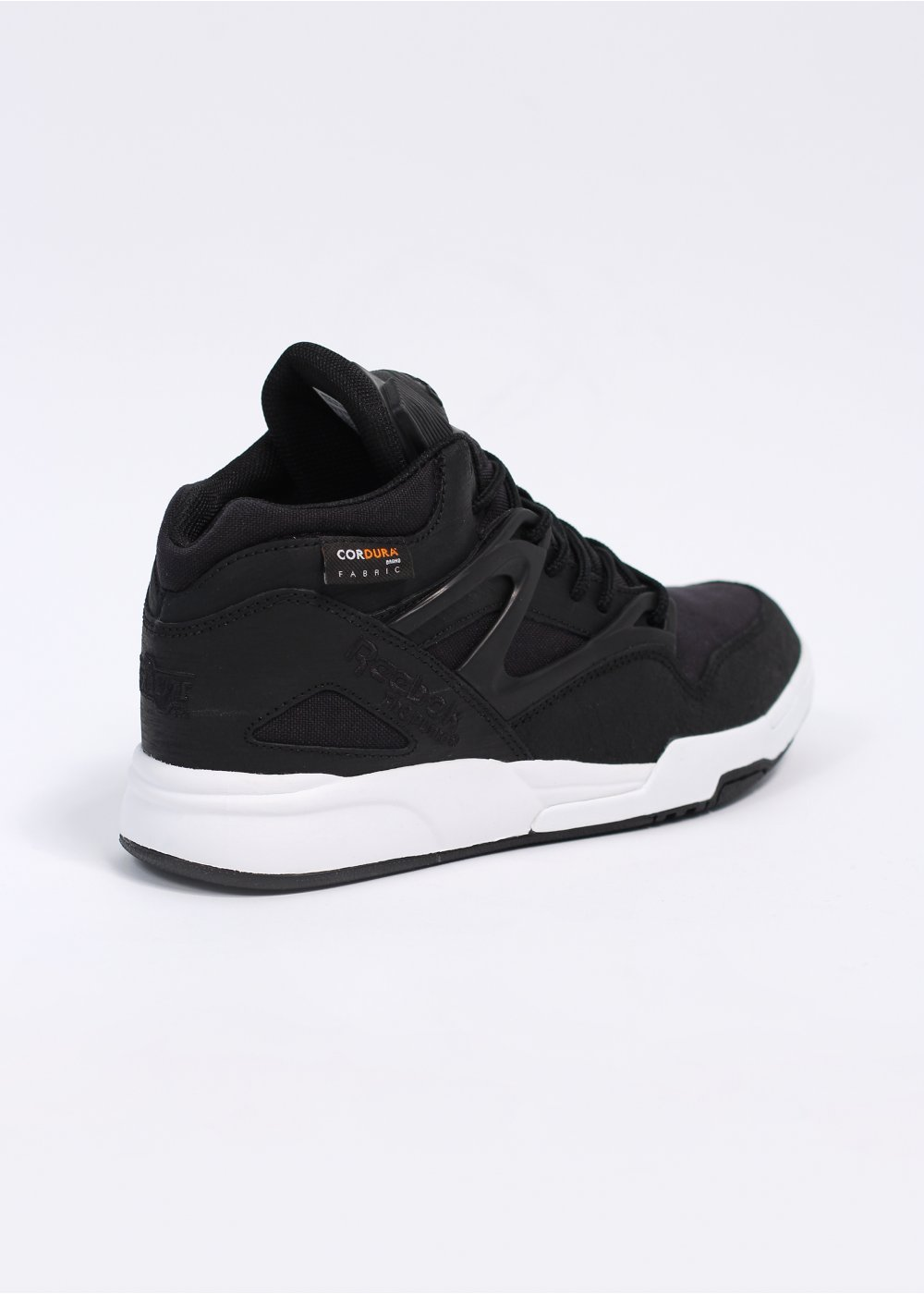 reebok x reebok pump omni lite trainers black white. Black Bedroom Furniture Sets. Home Design Ideas