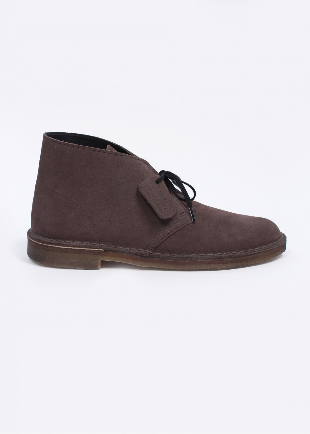 clarks originals desert boot suede grey