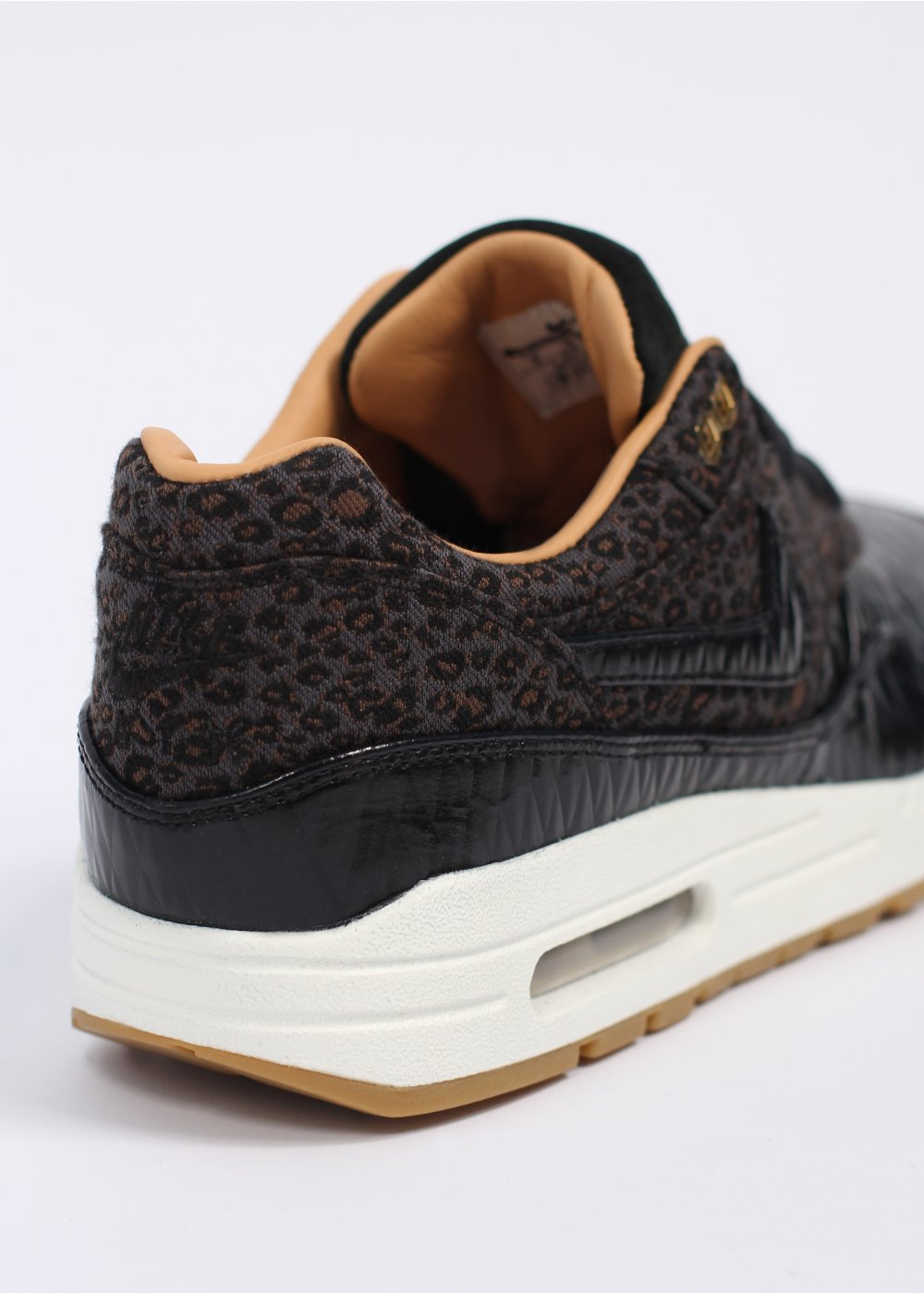 nike air max 1 safari black leopard