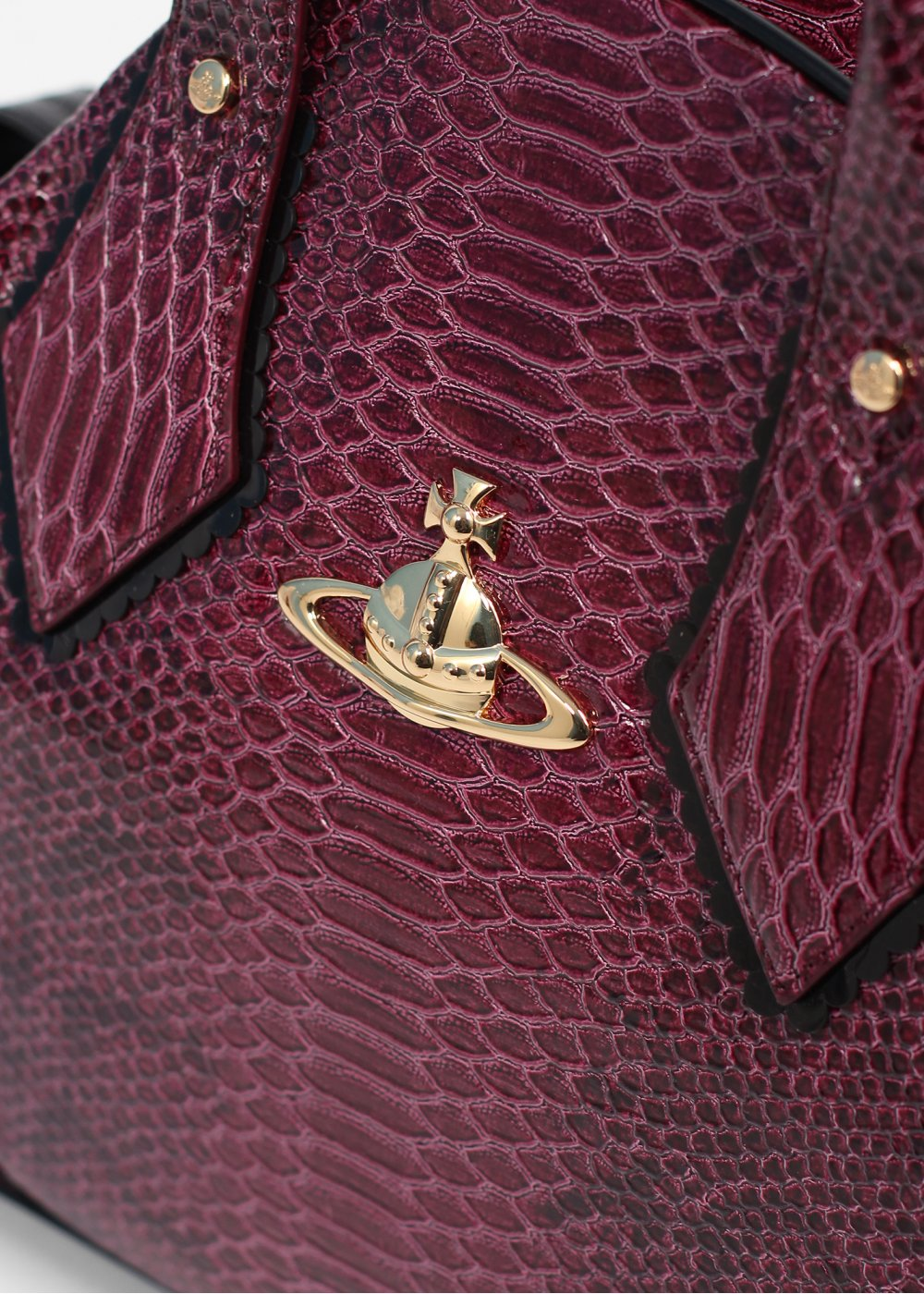 Vivienne Westwood Accessories Frilly Snake Bag Cherry Red ...