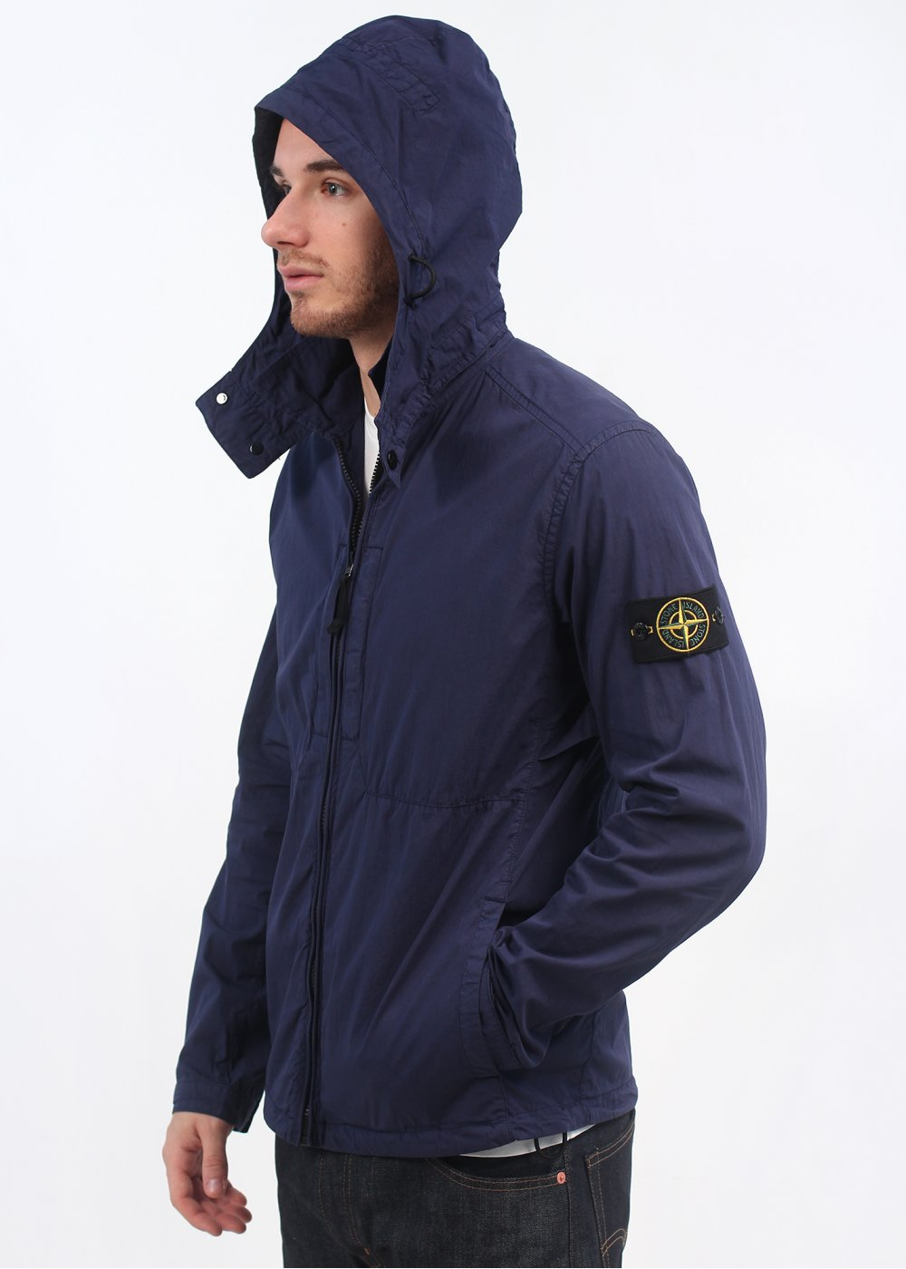 Stone Island Overshirt Jacket Ink