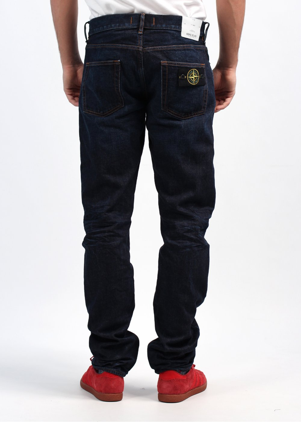 stone island regular fit jeans blue stone island from triads uk. Black Bedroom Furniture Sets. Home Design Ideas