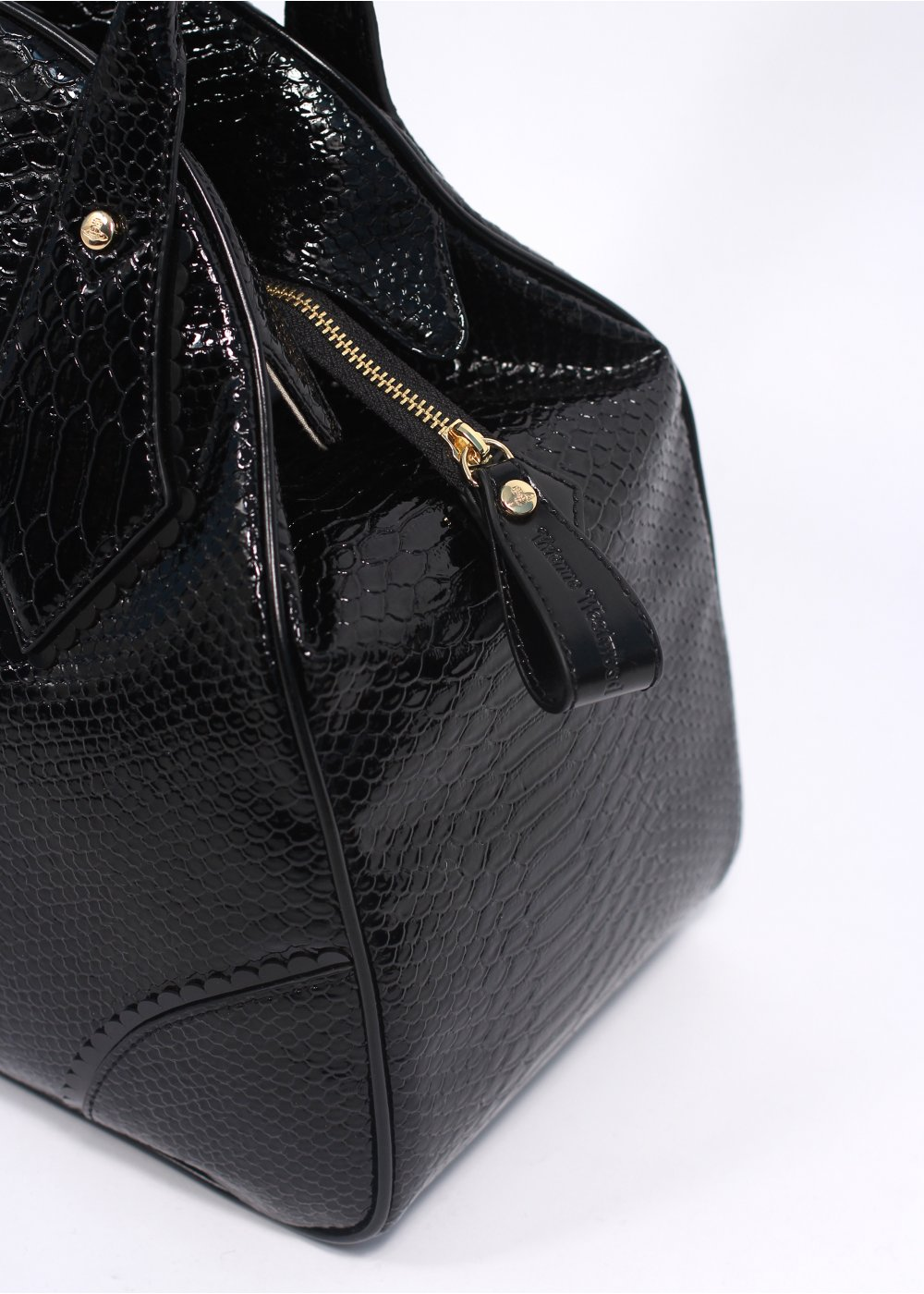 Vivienne Westwood Accessories Frilly Snake Bag Black, SS14