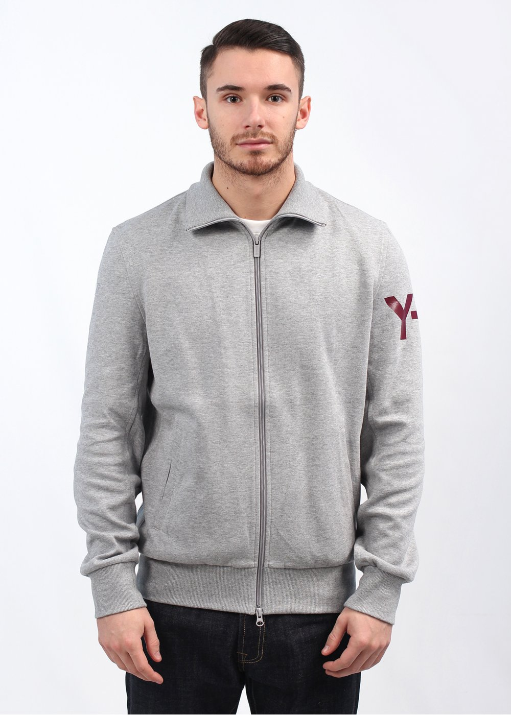 Adidas y 3 m cl classic track top grey for Best classic house tracks