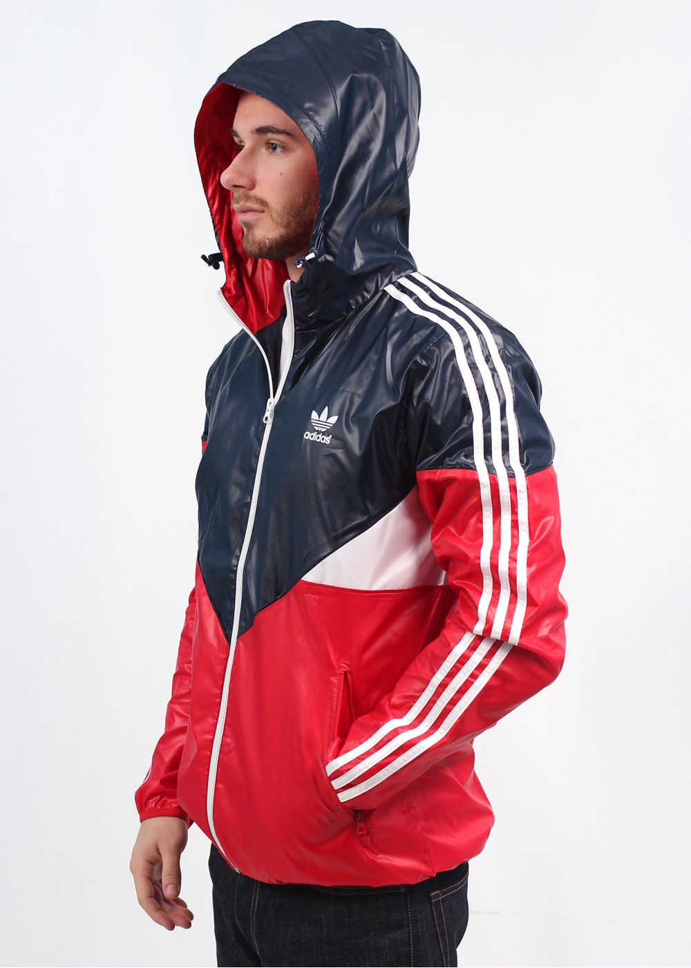 adidas originals colorado windbreaker ink red. Black Bedroom Furniture Sets. Home Design Ideas