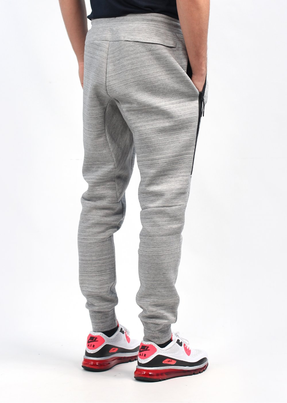 Perfect Nike  FCRB Jogger Pants In Heather Grey  SOLETOPIA