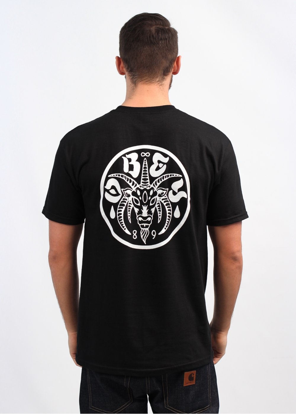 Obey the eternal t shirt black for Black obey t shirt
