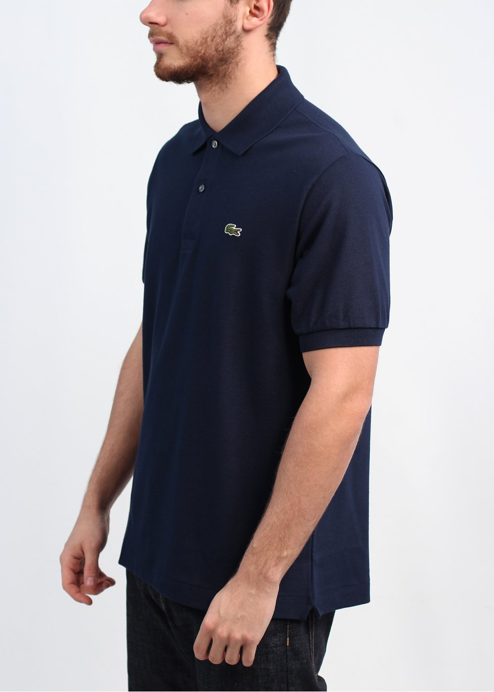 Lacoste best polo shirt navy for Best polo shirt for men