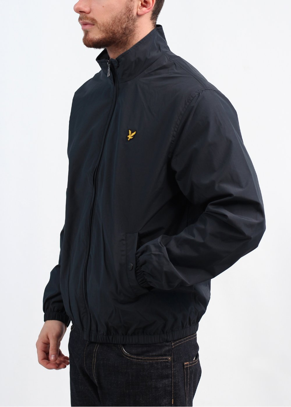 Lyle Amp Scott Vintage Funnel Neck Zip Jacket New Navy