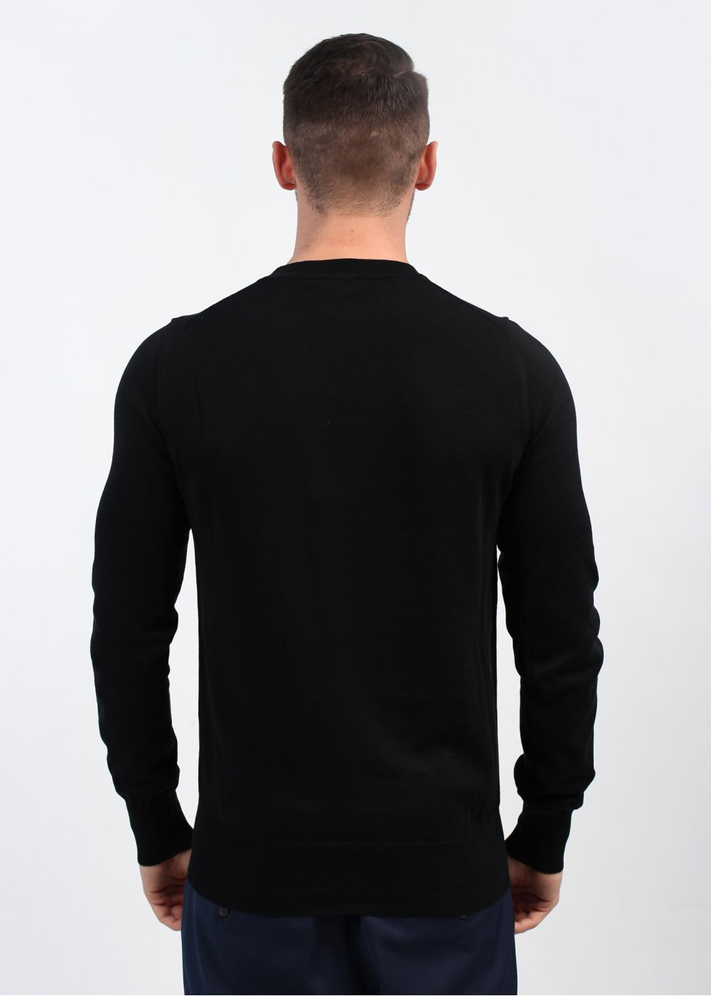 Vivienne Westwood Knit Crew Neck Jumper Black
