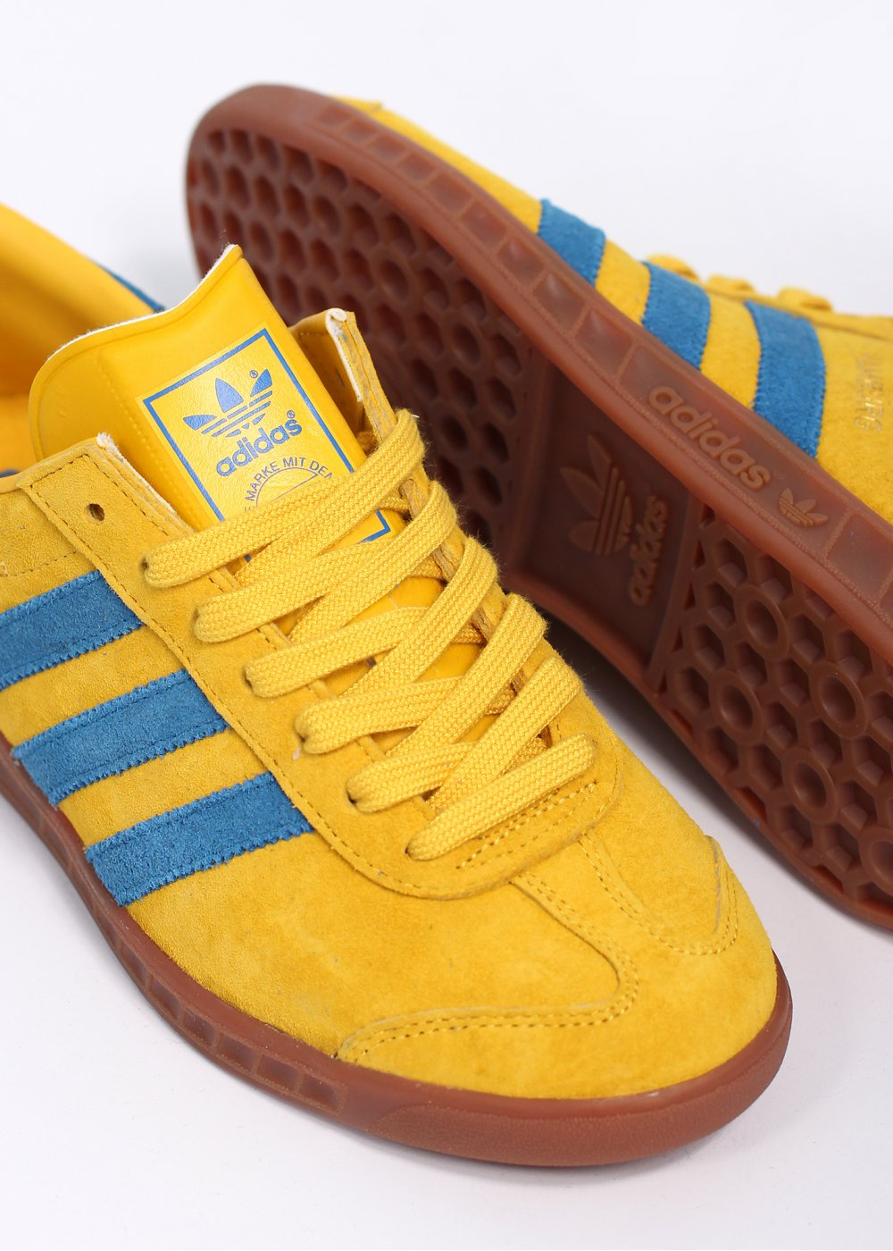 Yellow Adidas Originals