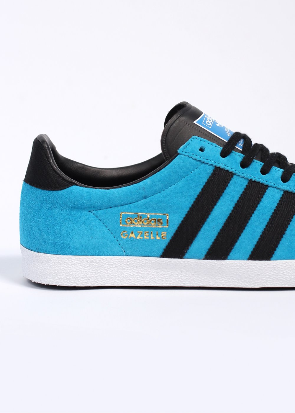 Adidas Originals Gazelle Og Leather Blue