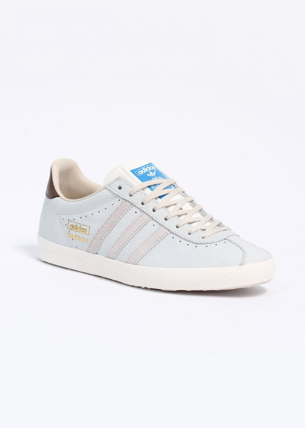 Adidas Gazelle Og Leather Neo White