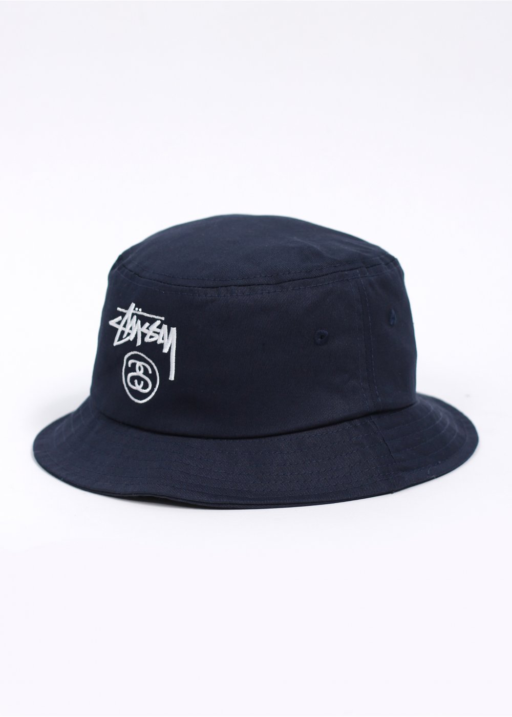 Stussy Stock Lock Bucket Hat - Navy